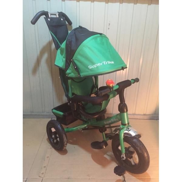 Велосипед Supertrike, зеленыйВелосипеды детские<br>Велосипед Supertrike, зеленый<br>