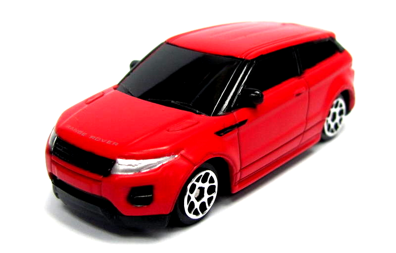 Купить Машина металлическая Range Rover Evoque, 1:64, цвет - красный матовый, RMZ City