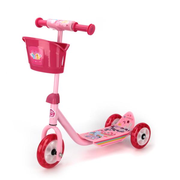 Трехколесный самокат Hasbro – Мой маленький пони,  пластик, колеса пвх, нагрузка до 20 кгТрехколесные самокаты<br>Трехколесный самокат Hasbro – Мой маленький пони,  пластик, колеса пвх, нагрузка до 20 кг<br>