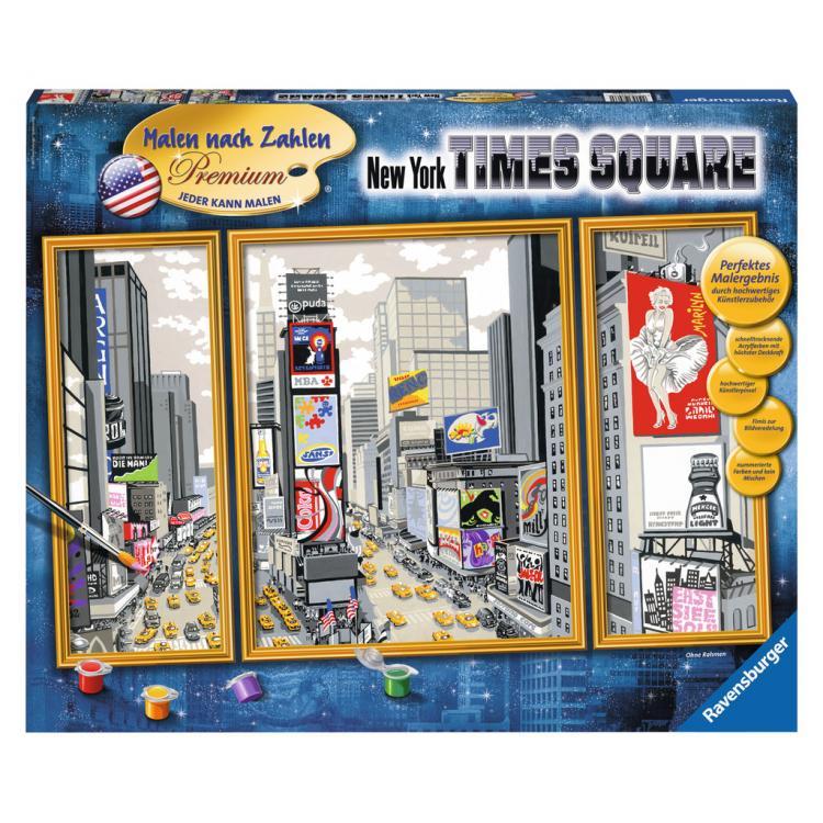 Раскрашивание по номерам «Таймс-сквер»Раскраски по номерам Schipper<br>Раскрашивание по номерам «Таймс-сквер»<br>