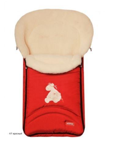 Спальный мешок в коляску №07 - North pole, красныйЗимние конверты<br>Спальный мешок в коляску №07 - North pole, красный<br>