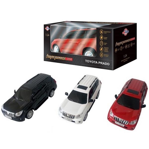 картинка Радиоуправляемый лицензированный автомобиль - Toyota Prado, масштаб 1:24, ЗУ в комплекте от магазина Bebikam.ru