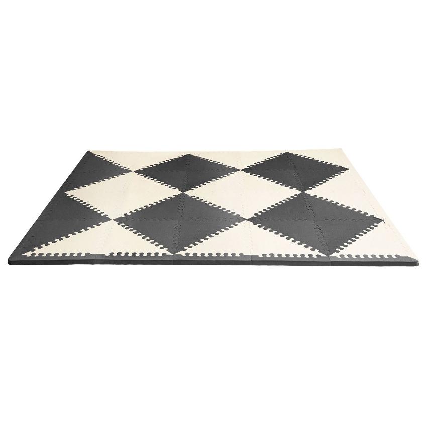 Купить Напольный коврик-пазл, цвет черный/кремовый, Skip Hop