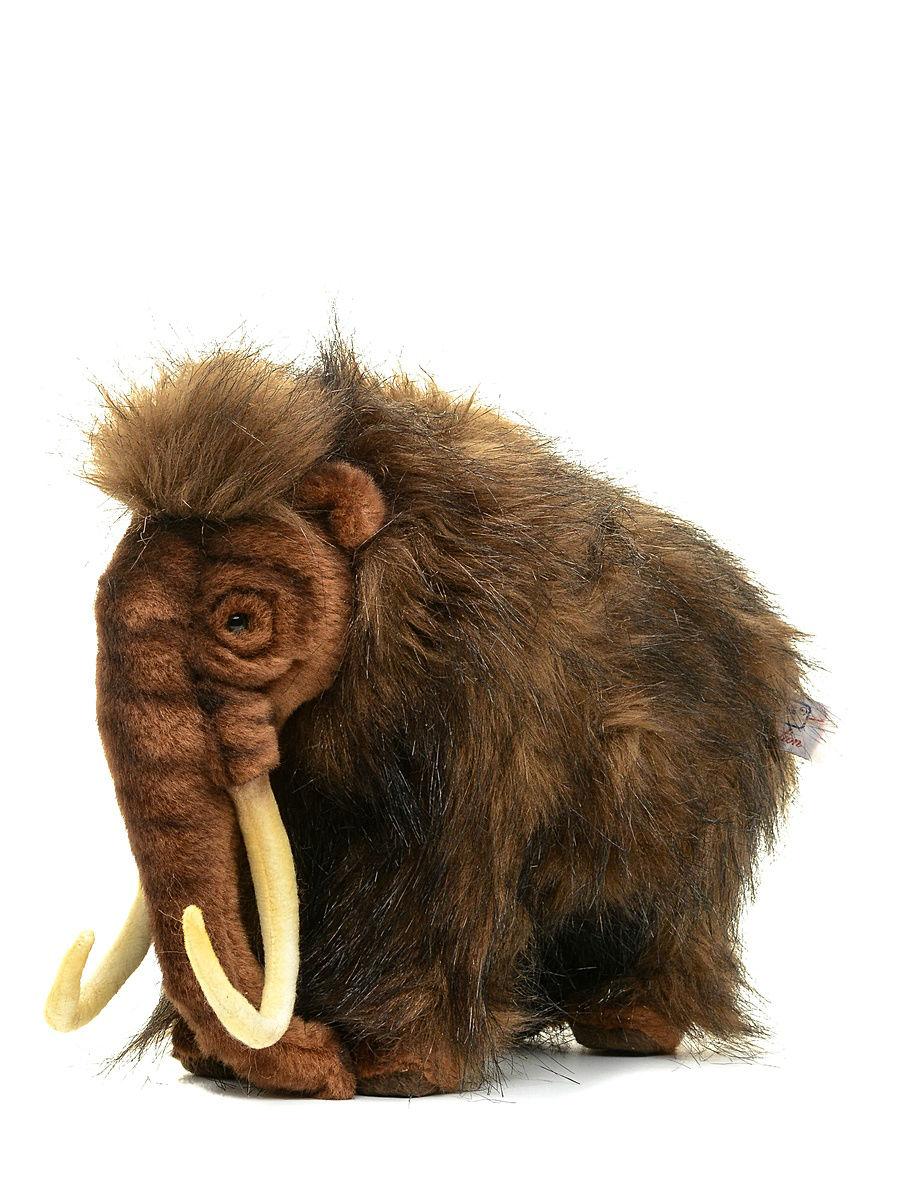 Мягкая игрушка – Мамонт, 32 см.Дикие животные<br>Мягкая игрушка – Мамонт, 32 см.<br>