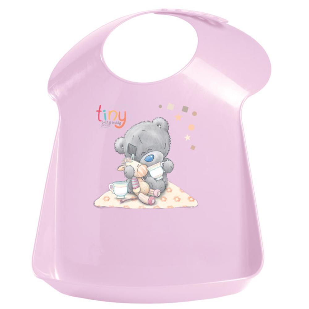 Нагрудник детский с аппликацией Me To You, розовый фото