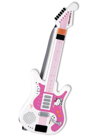 Детская гитара электронная серии Hello KittyИгрушки Hello Kitty<br>Детская гитара электронная серии Hello Kitty<br>