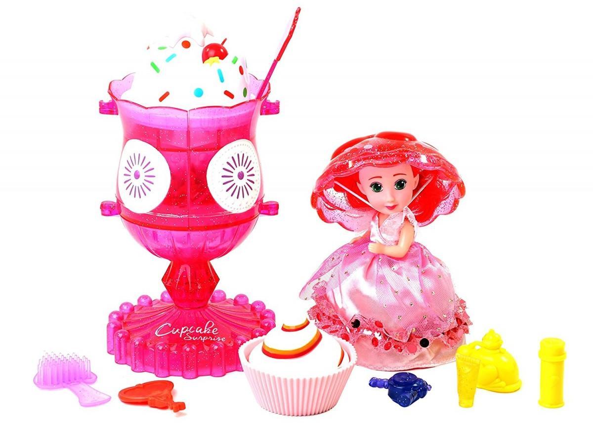 Набор Cupcake Surprise - Мороженое - Туалетный столик с куклой-капкейк и питомцемКуклы Cupcake Surprise<br>Набор Cupcake Surprise - Мороженое - Туалетный столик с куклой-капкейк и питомцем<br>