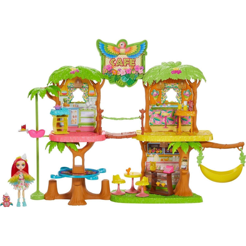 Игровой набор из серии Enchantimals® Джунгли-кафе Mattel