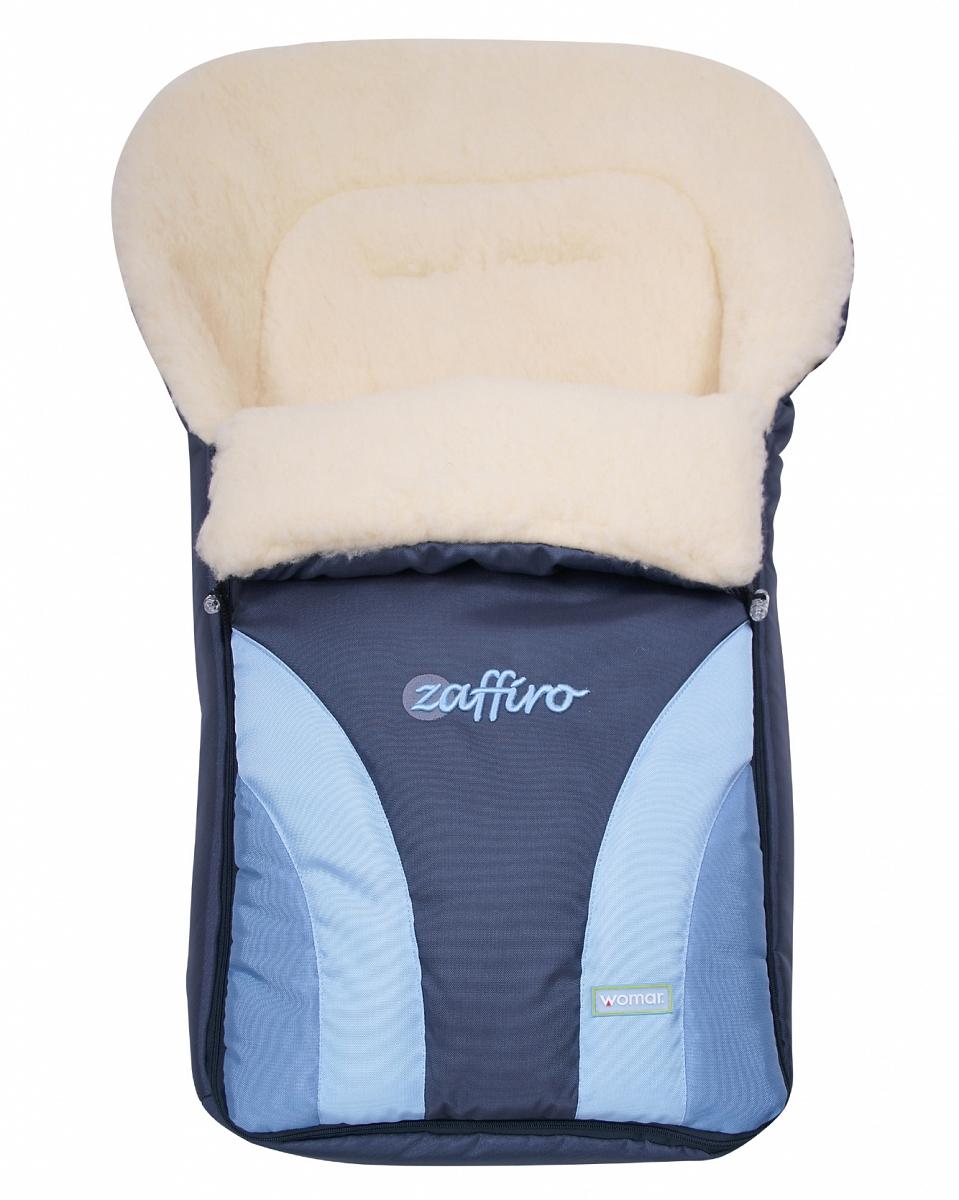 Спальный мешок в коляску №12 – Crocus, голубойЗимние конверты<br>Спальный мешок в коляску №12 – Crocus, голубой<br>