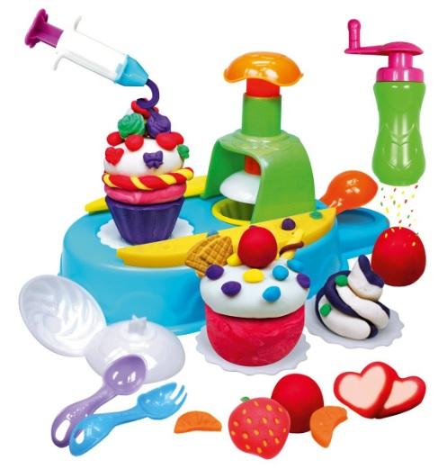 Игровой набор - Мастерская кексов с пластилином и аксессуарами