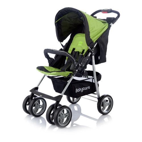 Коляска прогулочная Voyager, greenДетские коляски Capella Jetem, Baby Care<br>Коляска прогулочная Voyager, green<br>