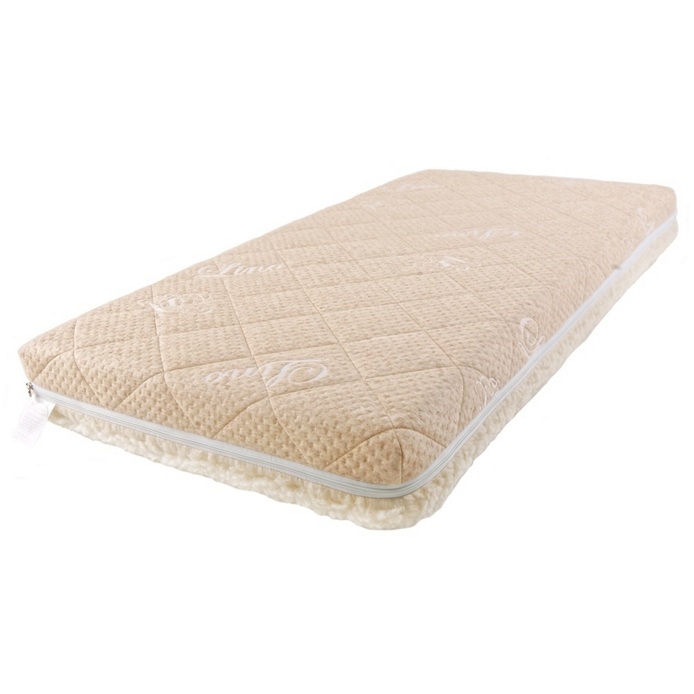 Купить Детский матрас класса Люкс BabySleep BioForm linen, размер 120 х 60 см.