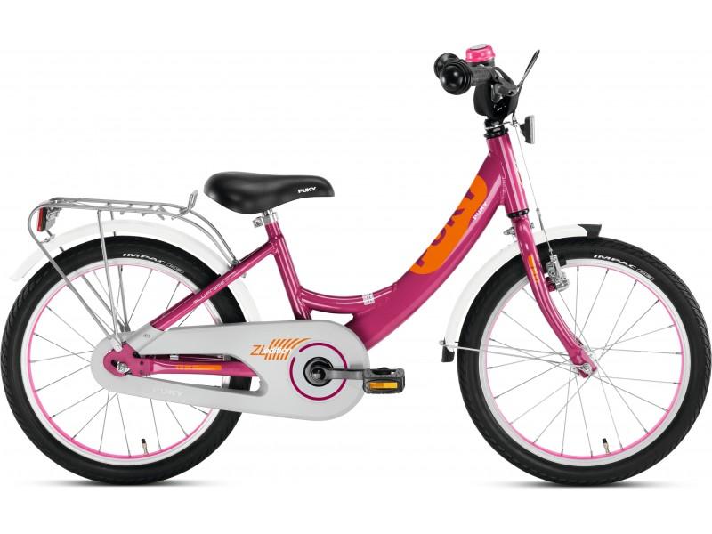 Купить Двухколесный велосипед ZL 18-1 Alu, цвет – Berry/Ягодный, Puky