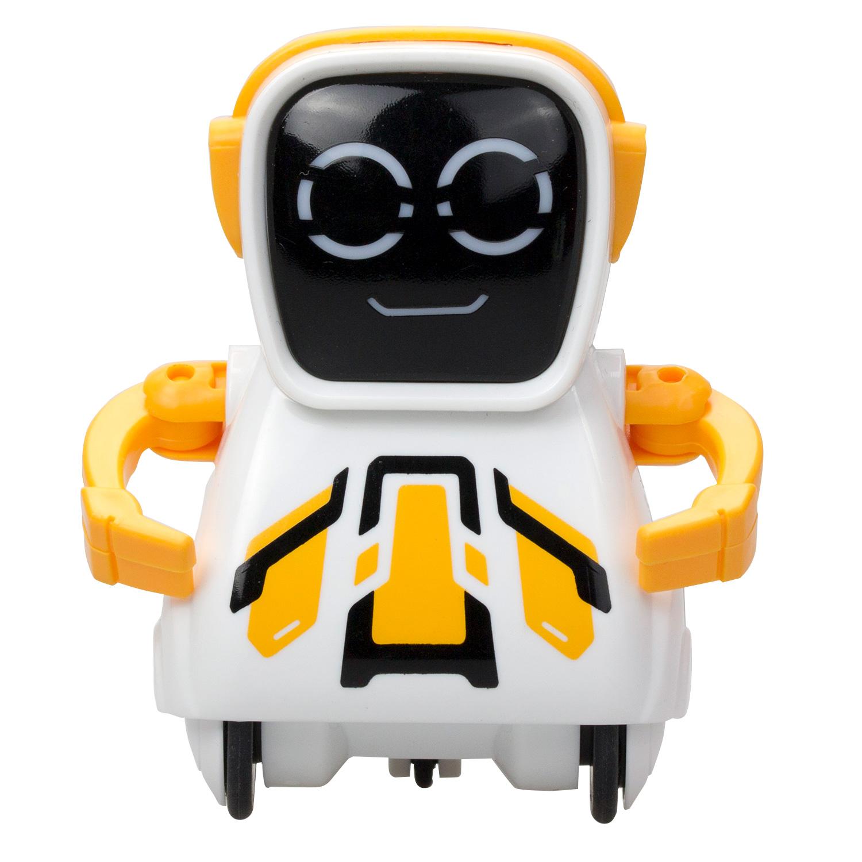 Купить Робот Покибот, желтый квадратный, Silverlit