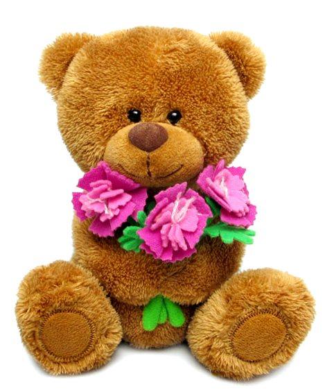 Мягкая игрушка - Медвежонок Сэмми с гвоздиками, музыкальный, 18 см.Говорящие игрушки<br>Мягкая игрушка - Медвежонок Сэмми с гвоздиками, музыкальный, 18 см.<br>