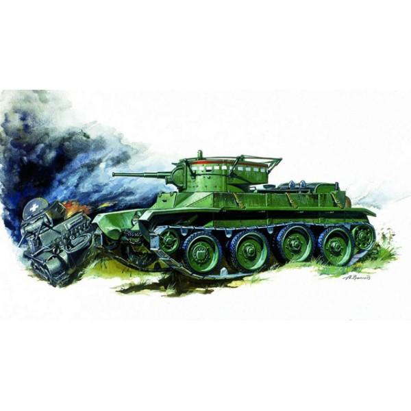 Модель для склеивания - Танк БТ-5Модели танков для склеивания<br>Модель для склеивания - Танк БТ-5<br>