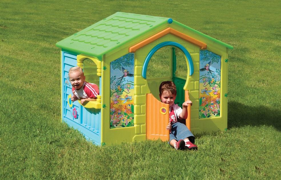 Детский игровой разборный домикПластиковые домики для дачи<br>Детский игровой разборный домик<br>