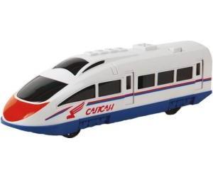 Скоростной поезд Сапсан РЖД пластиковый, инерционный, свет+звукДетская железная дорога<br>Скоростной поезд Сапсан РЖД пластиковый, инерционный, свет+звук<br>