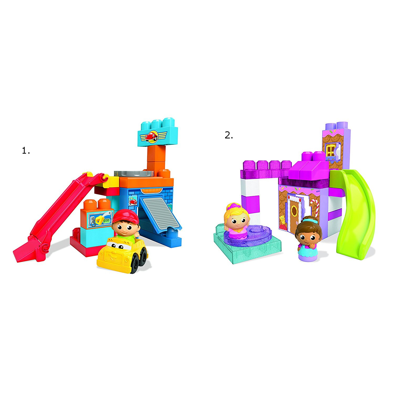 Игровой набор  конструктор Веселые качели - Конструкторы Mega Bloks, артикул: 160144