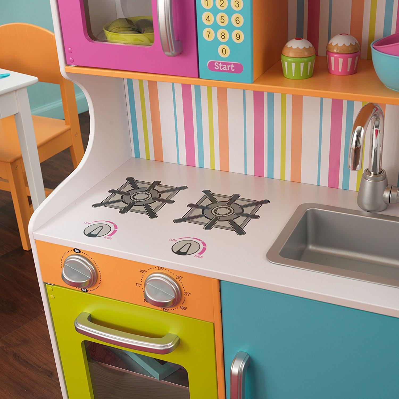Детская кухня для девочек из дерева своими руками 97
