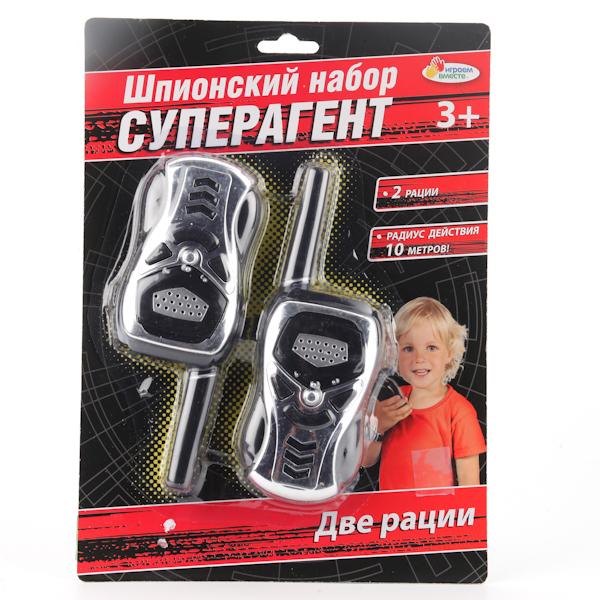 Шпионский набор – рации на батарейках от Toyway