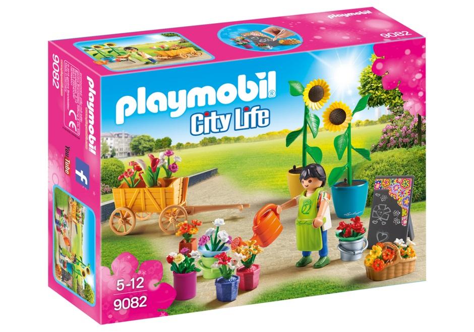 Купить Игровой набор из серии Шопинг: Флористический магазин, Playmobil