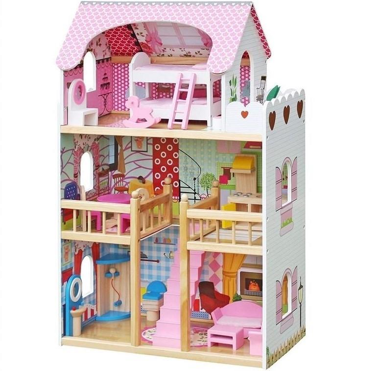Домик для кукол - Нежность, 18 предметов в комплекте
