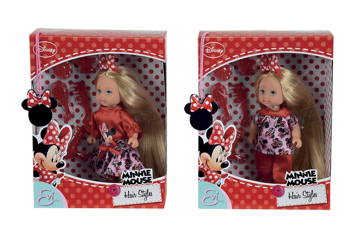 Кукла Еви с длинными волосами серии Minnie MouseКуклы Еви<br>Кукла Еви с длинными волосами серии Minnie Mouse<br>