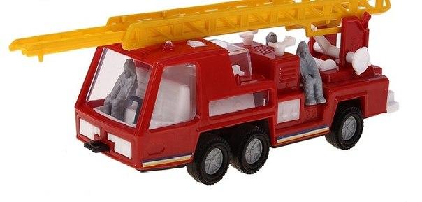 Купить Машина пожарная - Супер-мотор, 19 см, ПК Форма