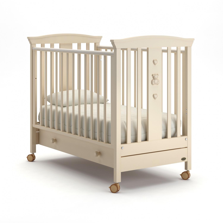 Купить Детская кровать Nuovita Fasto, avorio/слоновая кость