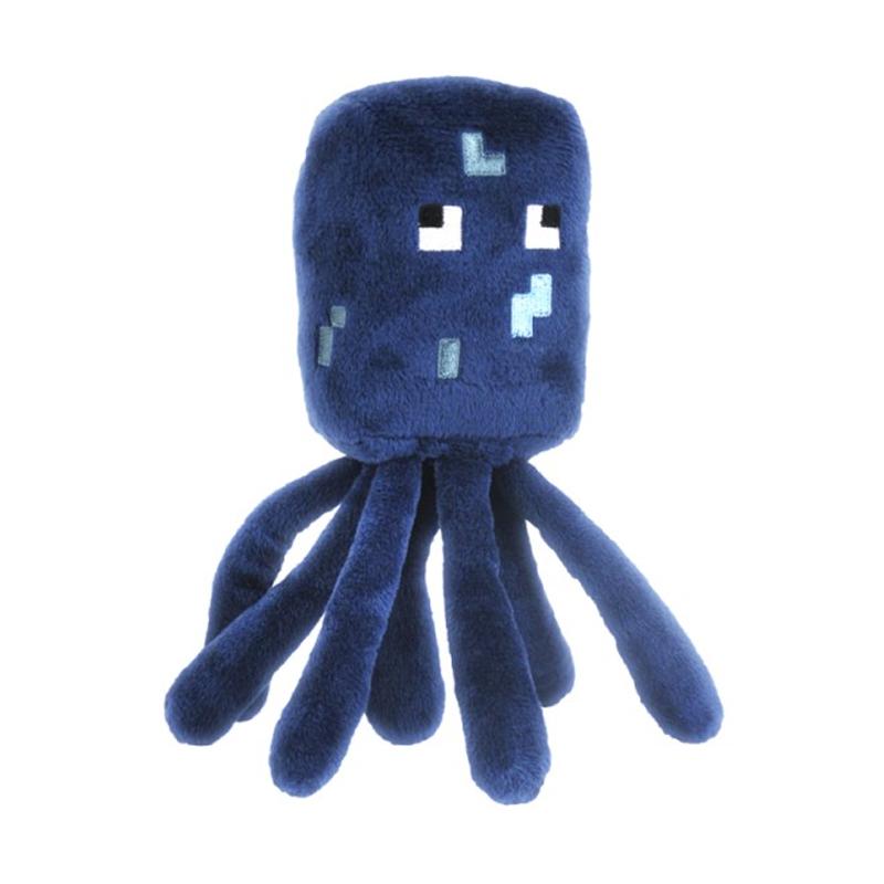 Купить Мягкая игрушка из серии Minecraft - Squid Осьминог, 18 см., Jazwares