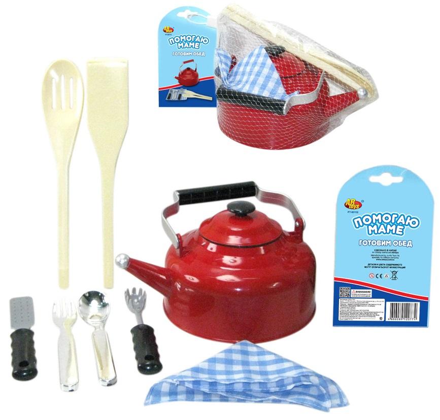 Игровой набор на 8 предметовАксессуары и техника для детской кухни<br>Игровой набор на 8 предметов<br>