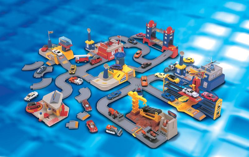 Игровой набор - Серия ГородДетские парковки и гаражи<br>Игровой набор - Серия Город<br>