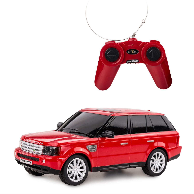 Машина на р/у - Range Rover Sport, красный, 1:24, свет