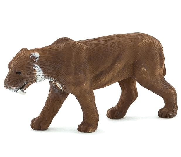 Фигурка – Смилодон, размер 5,5 х 2 х 3 см.Дикая природа (Wildlife)<br>Фигурка – Смилодон, размер 5,5 х 2 х 3 см.<br>