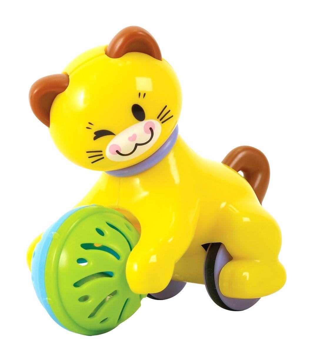 Развивающая игрушка – Котенок с колесикамиРазвивающие игрушки PlayGo<br>Развивающая игрушка – Котенок с колесиками<br>