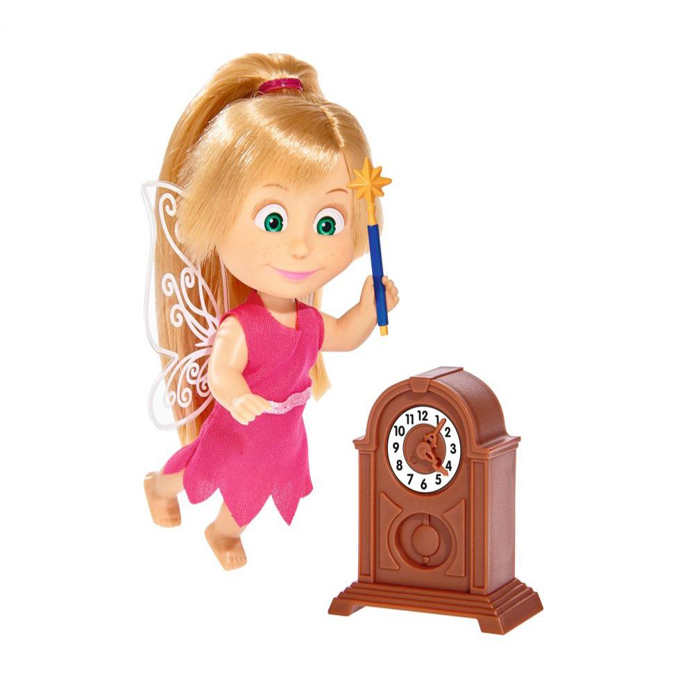 Кукла Маша в костюме феи с аксессуарами, 12 см.Маша и медведь игрушки<br>Кукла Маша в костюме феи с аксессуарами, 12 см.<br>