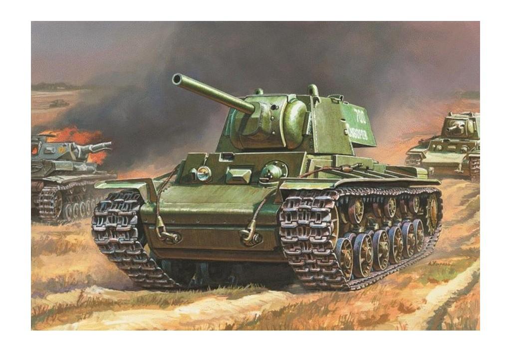 Сборная подарочная модель советского тяжёлого танка КВ-1Модели танков для склеивания<br>Сборная подарочная модель советского тяжёлого танка КВ-1<br>