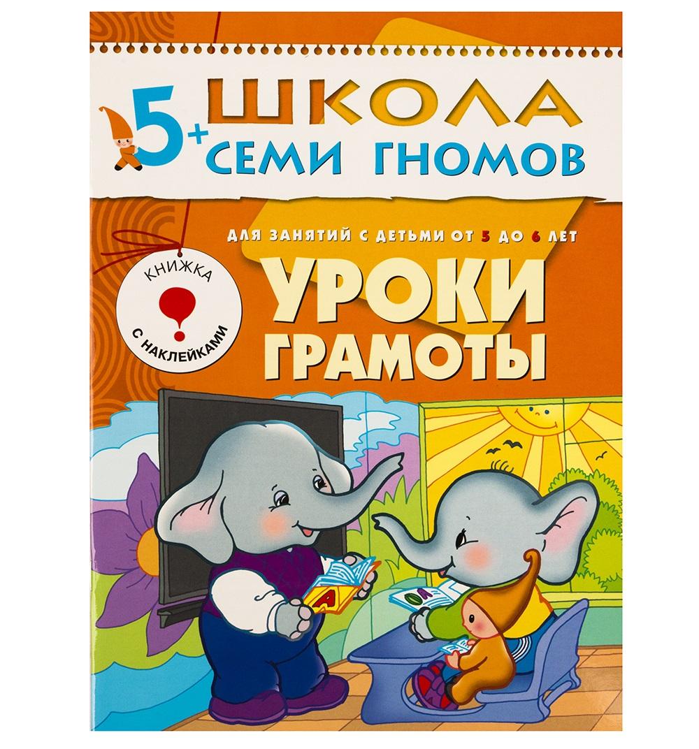 Книга из серии Школа Семи Гномов Шестой год обучения - Уроки грамотыОбучающие книги<br>Книга из серии Школа Семи Гномов Шестой год обучения - Уроки грамоты<br>