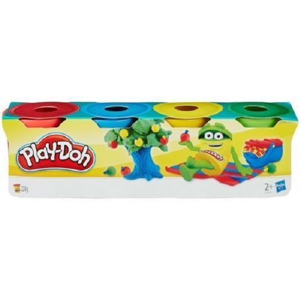 Купить Набор пластилина из серии Play-Doh, 4 мини-баночки, Hasbro