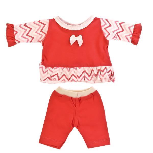 Купить со скидкой Одежда для кукол Карапуз - Костюм, 40-42 см, розовый