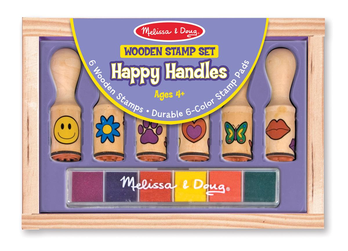 Купить Набор печатей Веселая ручка из серии Творчество , Melissa&Doug