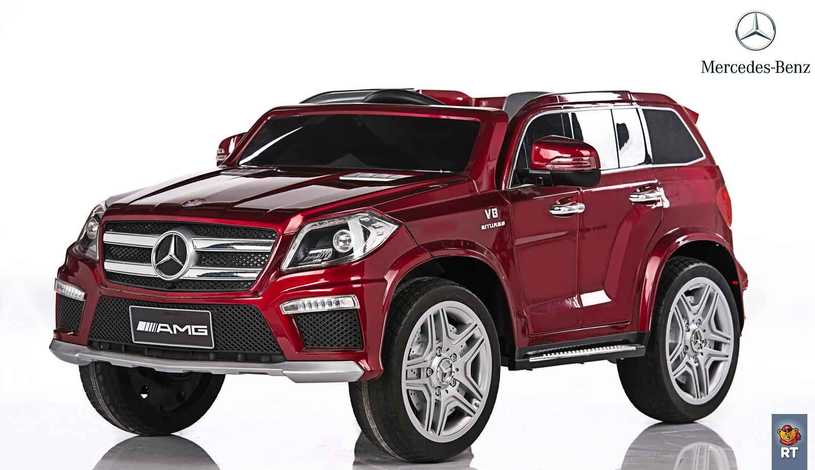 Электромобиль RT ML63 Mercedes-Bens AMG 12V R/C с резиновыми колесами, цвет бордоЭлектромобили, детские машины на аккумуляторе<br>Электромобиль RT ML63 Mercedes-Bens AMG 12V R/C с резиновыми колесами, цвет бордо<br>