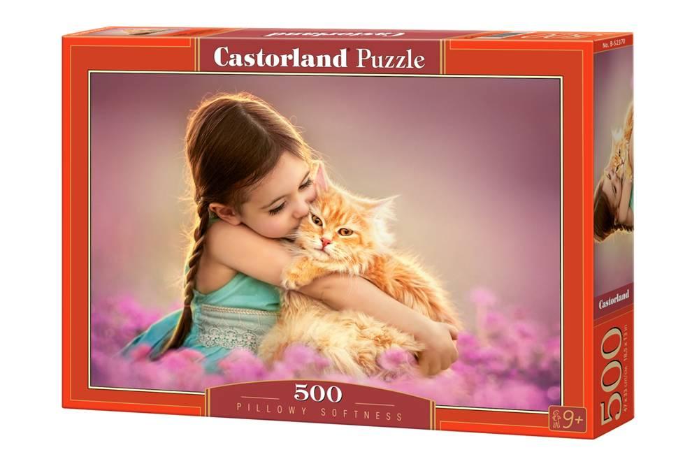 Купить со скидкой Пазл Castorland 500 деталей Рыжий котенок