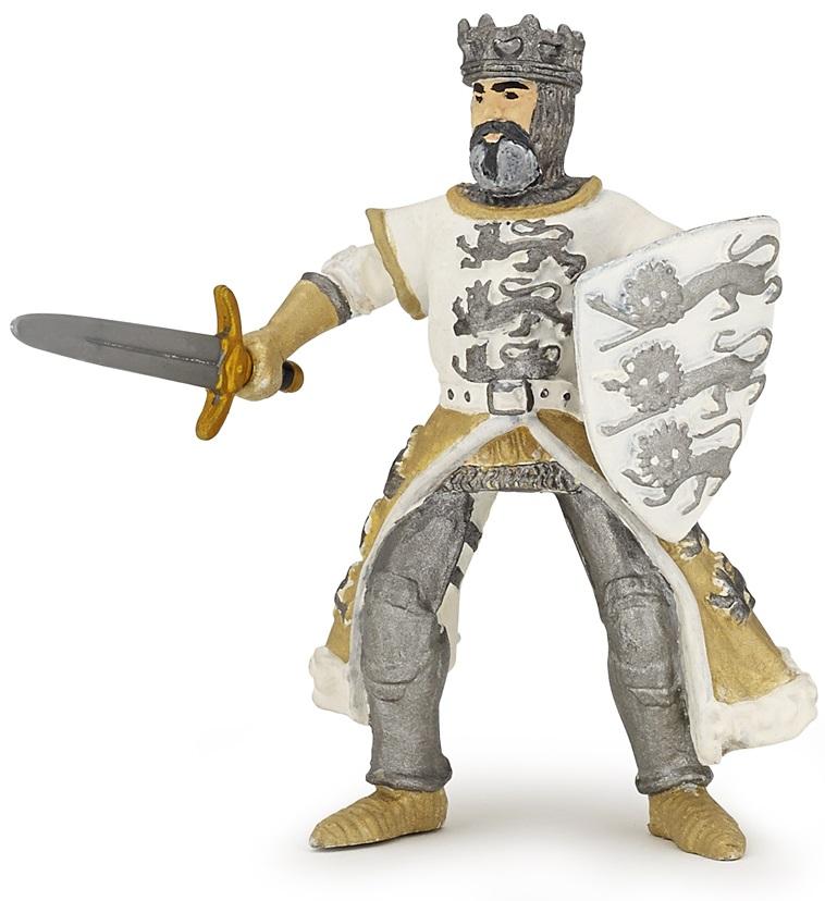 Фигурка Papo - Король Ричард, белыйФигурки Papo<br>Фигурка Papo - Король Ричард, белый<br>
