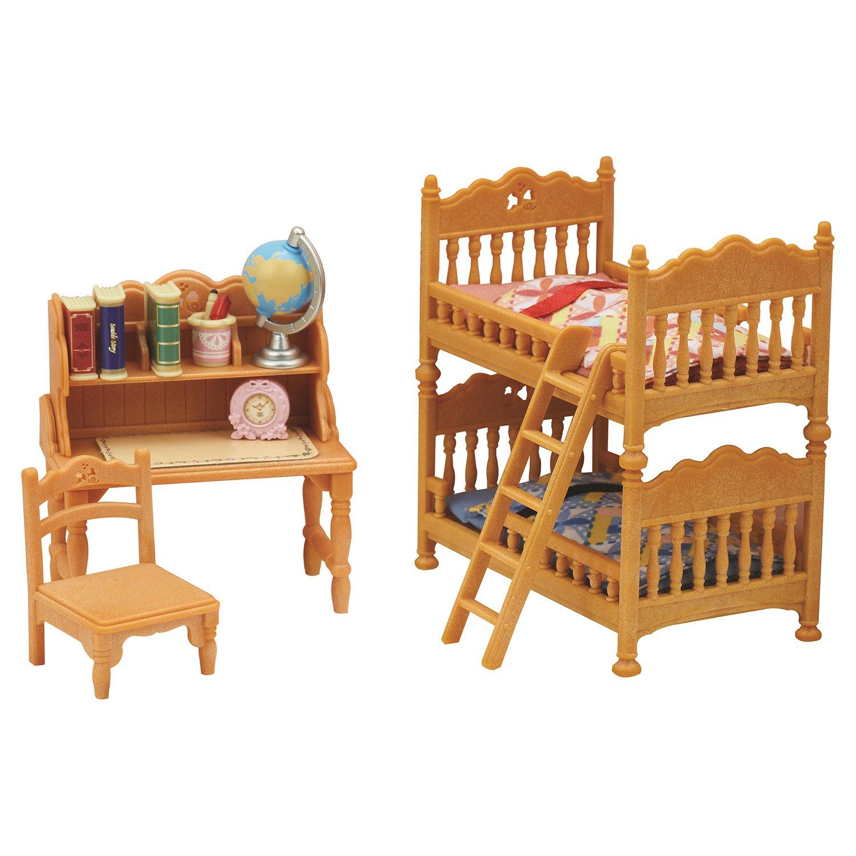 Игровой набор из серии Sylvanian Families - Детская комната с двухэтажной кроватью фото