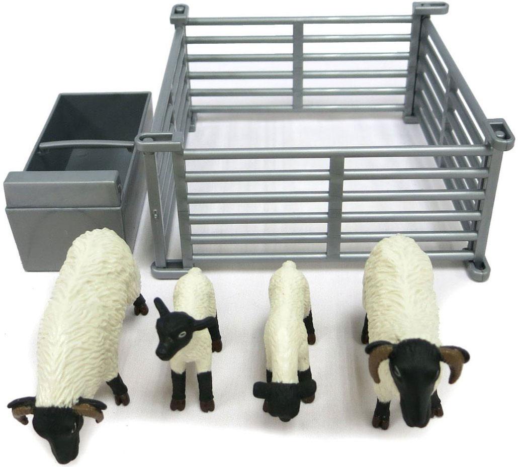 Набор - овцы в загонеНа ферме (Farm life)<br>Набор - овцы в загоне<br>