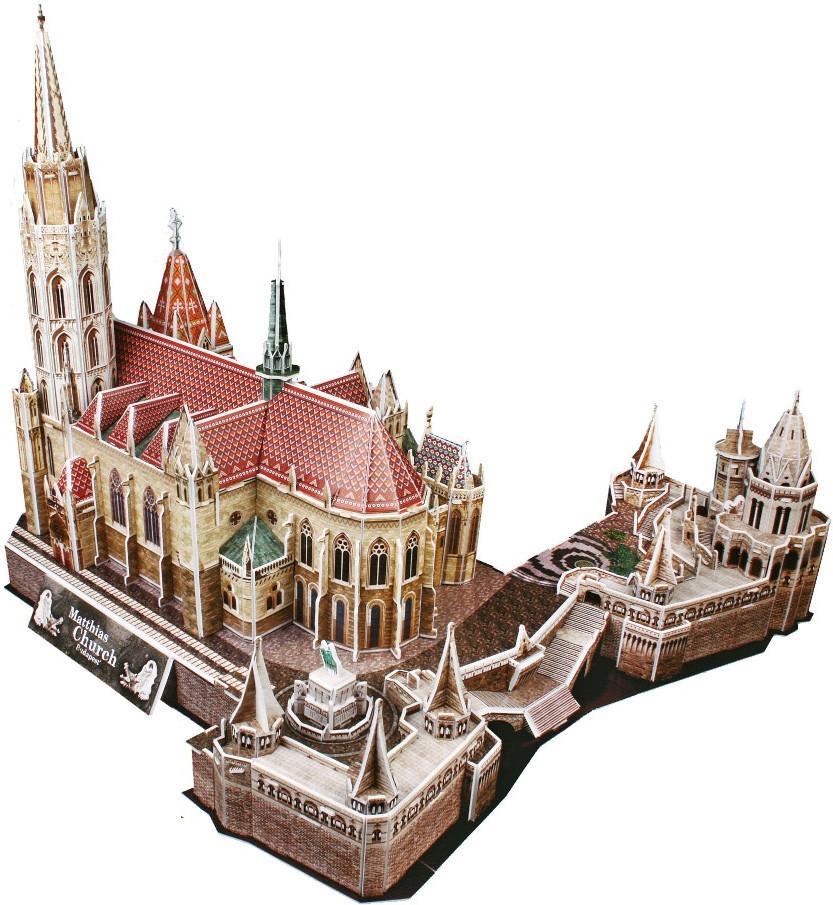 3D пазл Церковь Святого Матьяша - Пазлы, артикул: 95638