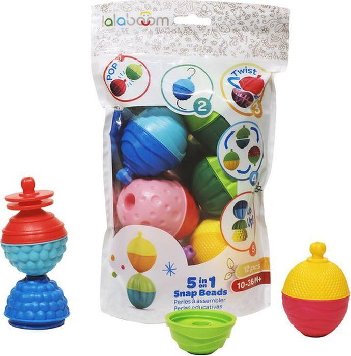 Развивающая игрушка Lalaboom, 12 предметов