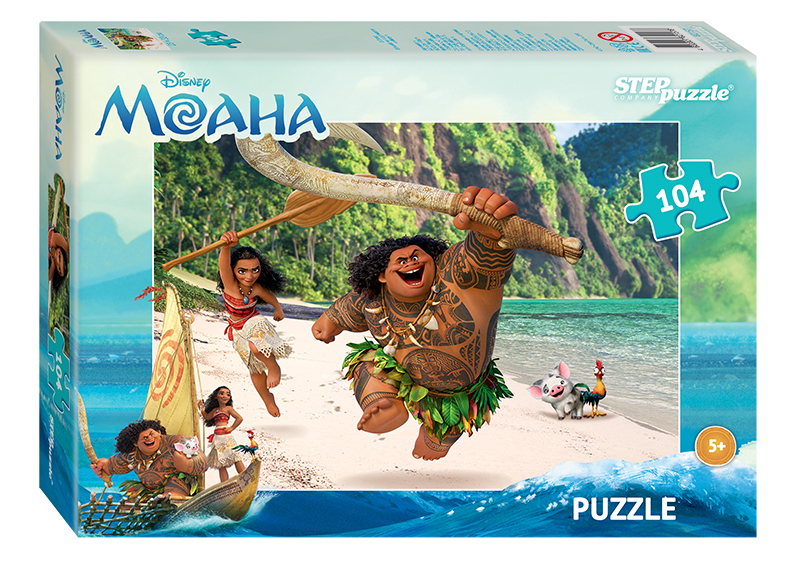Купить Пазл Disney - Моана, 104 элемента, Step Puzzle